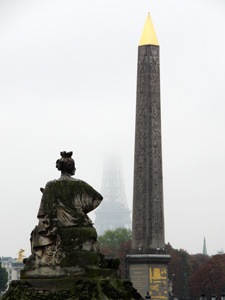 Lucsor obelisk in Paris